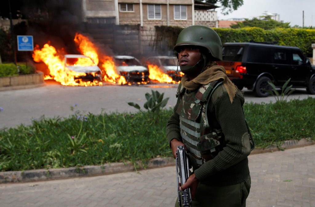 Al-Shabab claims role in deadly attack at Nairobi hotel