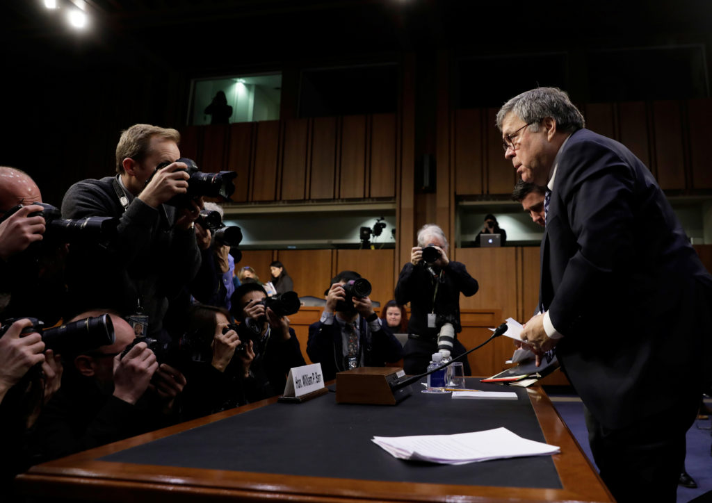 WATCH: William Barr says he could conceive of prosecuting journalists 'as last resort'