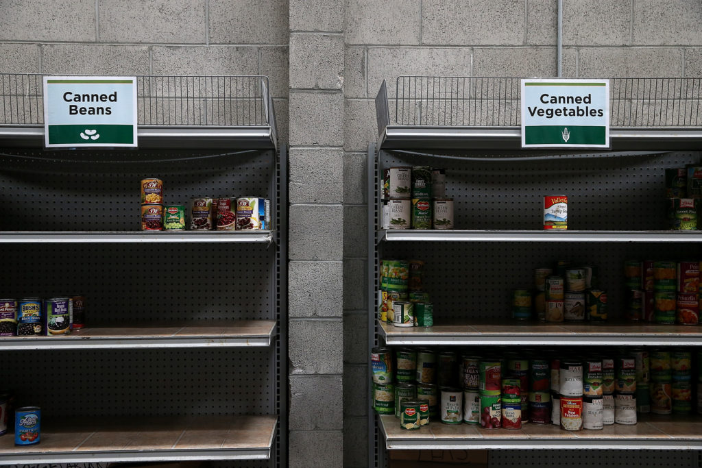 Nationwide, 38 million Americans who rely on the Supplemental Nutrition Assistance Program, the nation's largest safety net program for food and nutrition, but the ongoing government shutdown puts access to food at risk. (Photo by Justin Sullivan/Getty Images)