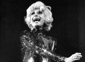 Carol Channing performs, 1991. Photo by Kevin Cohen/New York Post/Photo Archives, LLC via Getty Images