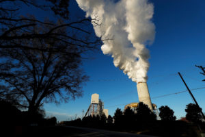 FILE PHOTO: A view of Duke Energy's Marshall Power Plant in Sherrills Ford, North Carolina, U.S. November 29, 2018. Picture taken November 29, 2018. REUTERS/Chris Keane/File Photo
