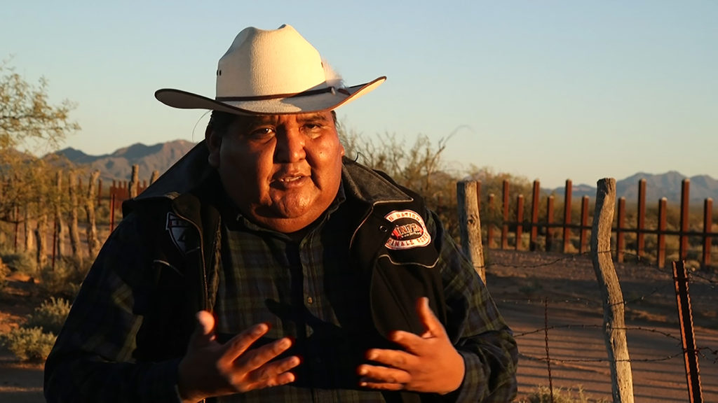 pbs.org - At US-Mexico border, a tribal nation fights wall that would divide them