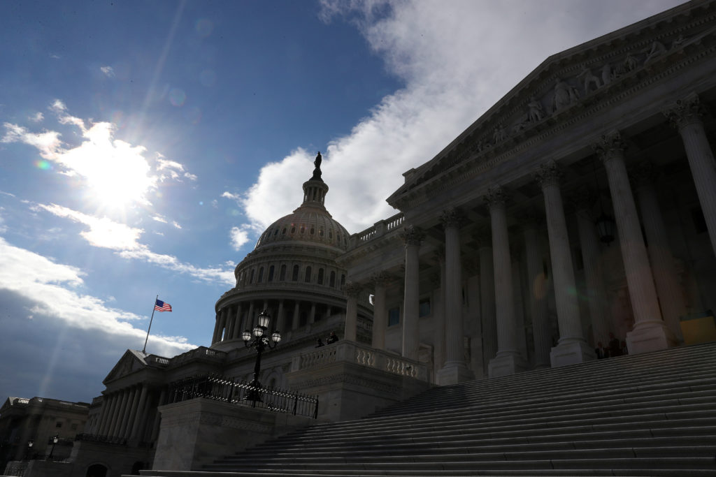 The U.S. Capitol building is seen as a partial government shutdown enters its 19th day on Capitol Hill in Washington, U.S....