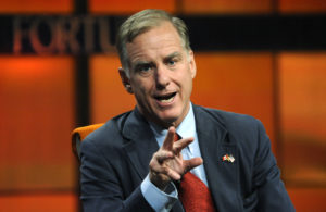 Howard Dean, physician and former chairman of the Democratic National Committee, speaks during a 2009 technology conference in Pasadena, California. Photo by Phil McCarten/Reuters