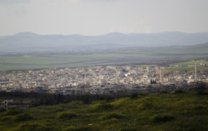 A general view shows Khan Sheikhoun in the southern countryside of Idlib. Photo by Khalil Ashawi/Reuters