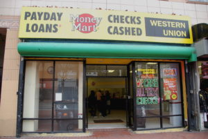 Payday loans shop Photo by Steve Rhodes/Flickr