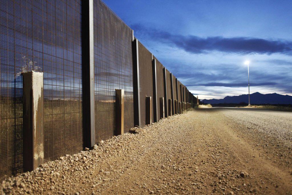 The Arizona-Mexico border fence is seen near Naco, Arizona, March 29, 2013. Photo by Samantha Sais/Reuters