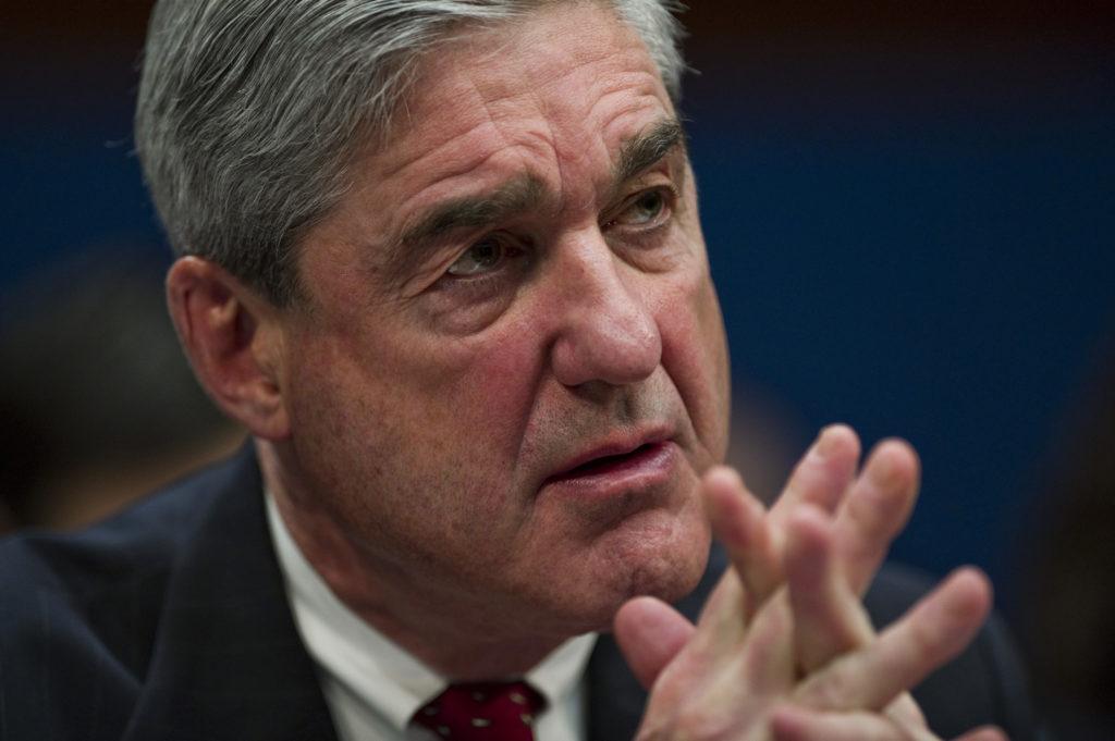 Robert S. Mueller III attends a House Select Intelligence hearing on world wide terrorism threats. Photo by Scott J. Ferre...