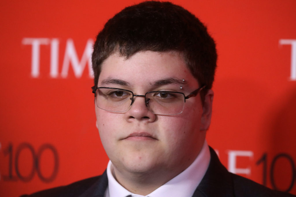 Activist Gavin Grimm arrives for the Time 100 Gala in the Manhattan borough of New York, New York, U.S. April 25, 2017. Picture taken April 25, 2017. Photo by Carlo Allegri/Reuters