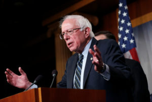 Sen. Bernie Sanders, I-Vt, announced Monday that he's running for president in 2020. Photo by Joshua Roberts/Reuters