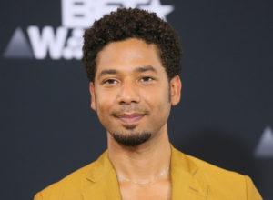 Jussie Smollett poses in the photo room at the 2017 BET Awards in Los Angeles, California. Photo by Danny Moloshok/Reuters