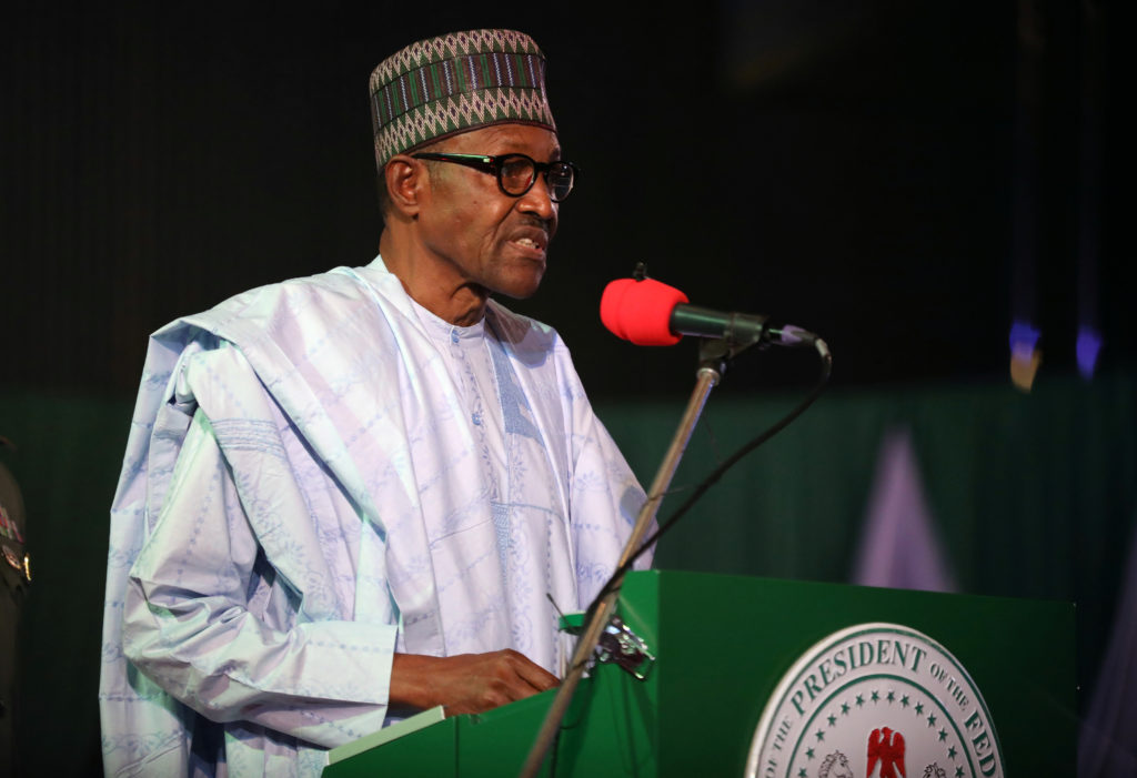Nigeria's president wins second term, calls for unity | PBS