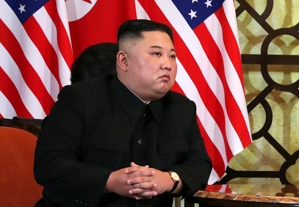 In a summit first, Kim Jong Un takes U.S. media questions