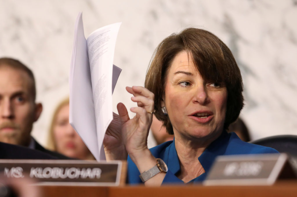 What does Amy Klobuchar believ...