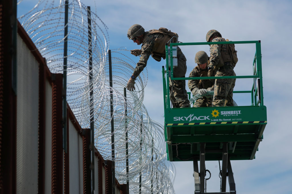 Marines cut training to cover costs of hurricane damage, border mission