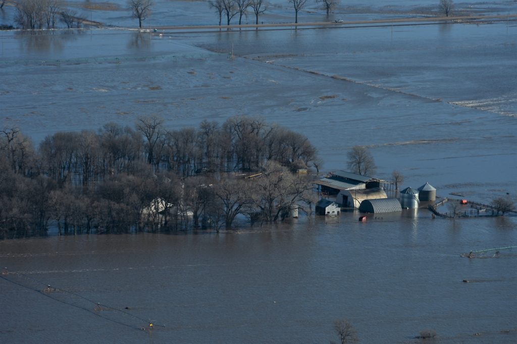 For Midwest farmers, floodwaters threaten millions in crop and livestock losses
