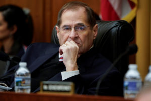 Jerrold Nadler, Chairman of the House Judiciary Committee, said that he still wants Mueller's report delivered to Congress by April 2. Photo by REUTERS/Joshua Roberts