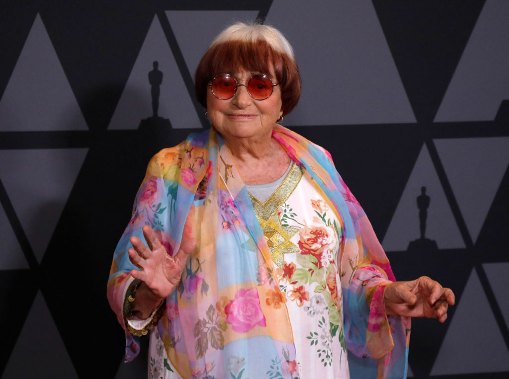 Director Agnes Varda is seen at the 9th Governors Awards in Los Angeles in 2017. Photo by Mario Anzuoni/Reuters
