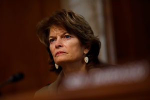 Chairwoman Lisa Murkowski (R-AK) speaks during a hearing of the Senate Committee on Energy and Natural Resources on Capitol Hill in Washington, U.S. March 13, 2018. Photo by REUTERS/Eric Thayer
