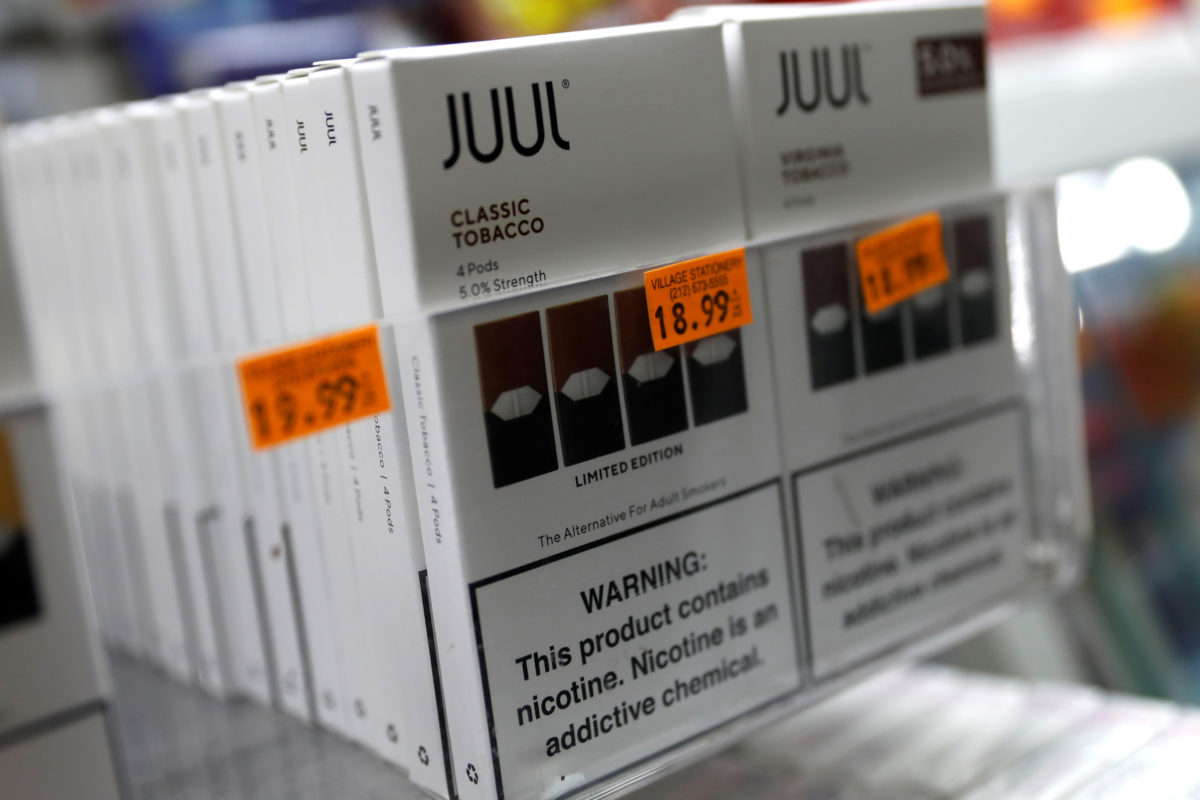 North Carolina becomes first state to sue e-cigarette maker