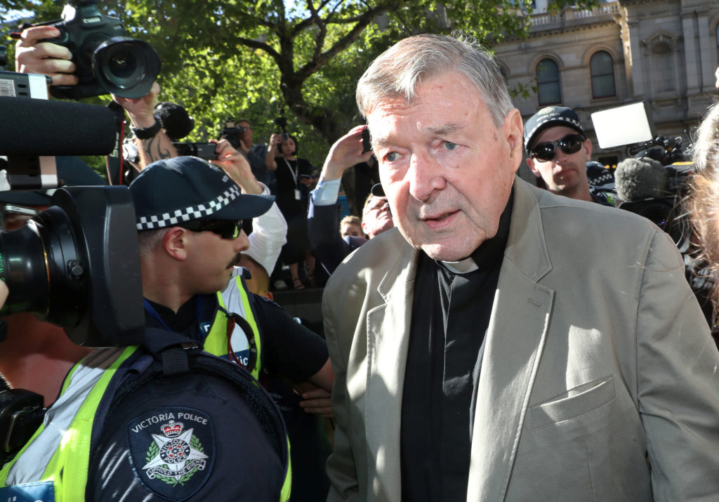 Australian cardinal Pell sentenced to six years for child