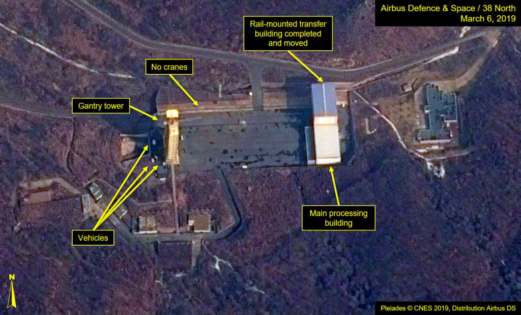 Activity discovered at second North Korean missile site