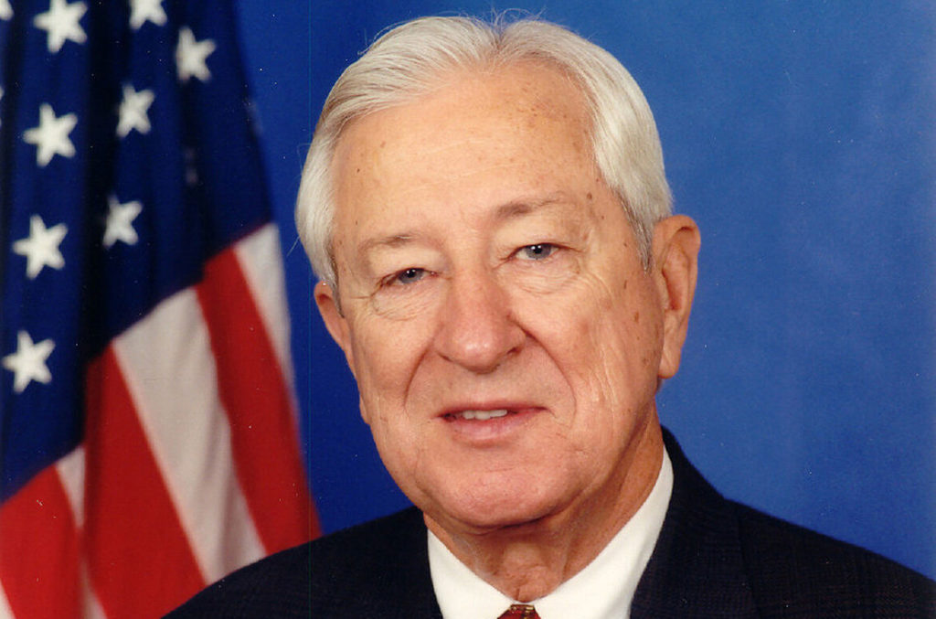 Representative Ralph Hall was the oldest-ever member of the House a…