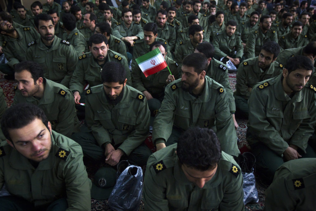 U.S. grants exemptions to sanctions on Iran Revolutionary Guard