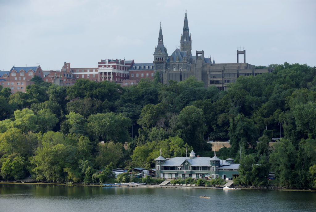 Georgetown University in 2016. Photo by REUTERS/Joshua Roberts
