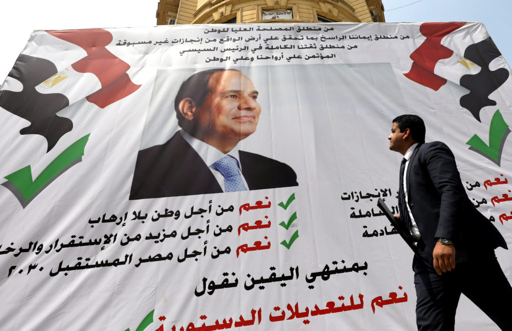 Egyptian voters extend el-Sissi's rule until 2030