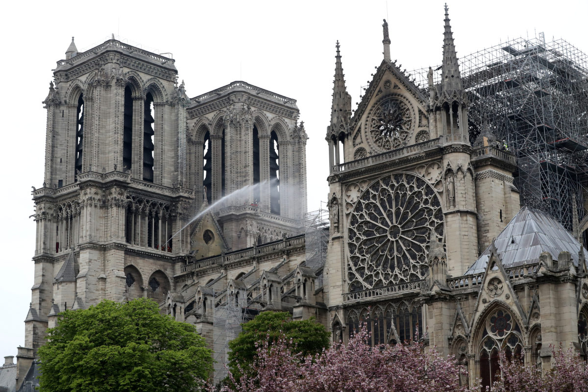 Which Notre Dame Treasures Survived The Fire Pbs Newshour