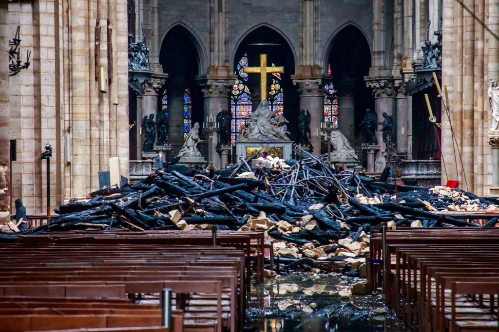 What Was Lost And Saved From The Notre Dame Fire Pbs Newshour