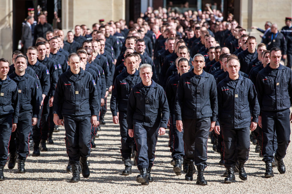 France pays tribute to firefighters who saved Notre Dame
