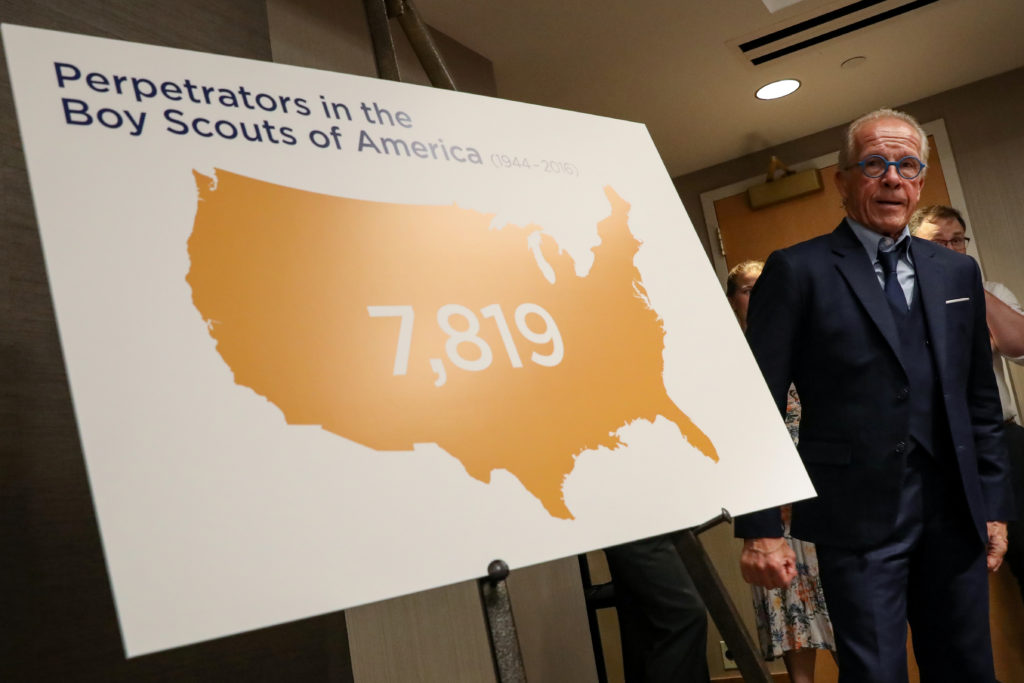 Looming wave of sex abuse cases poses financial threat to Boy Scouts