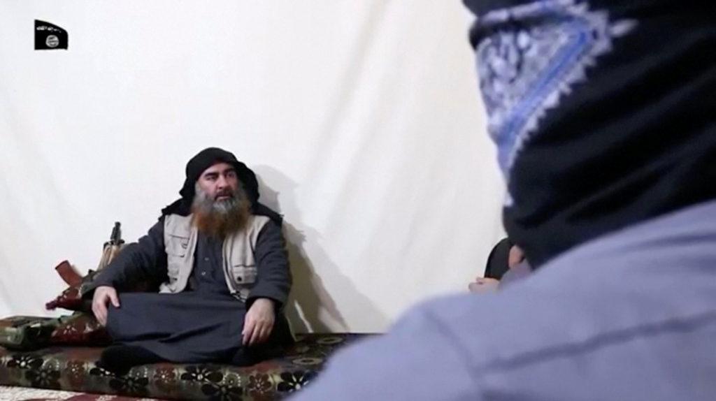 A bearded man with Islamic State leader Abu Bakr al-Baghdadi's appe…