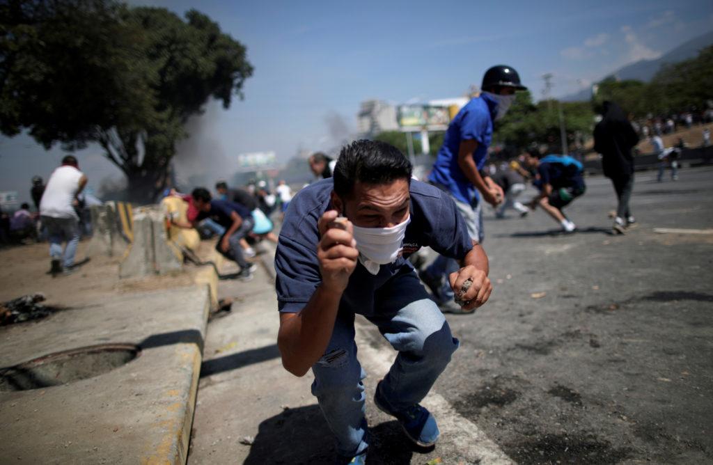 WATCH: National security adviser John Bolton addresses Venezuela unrest