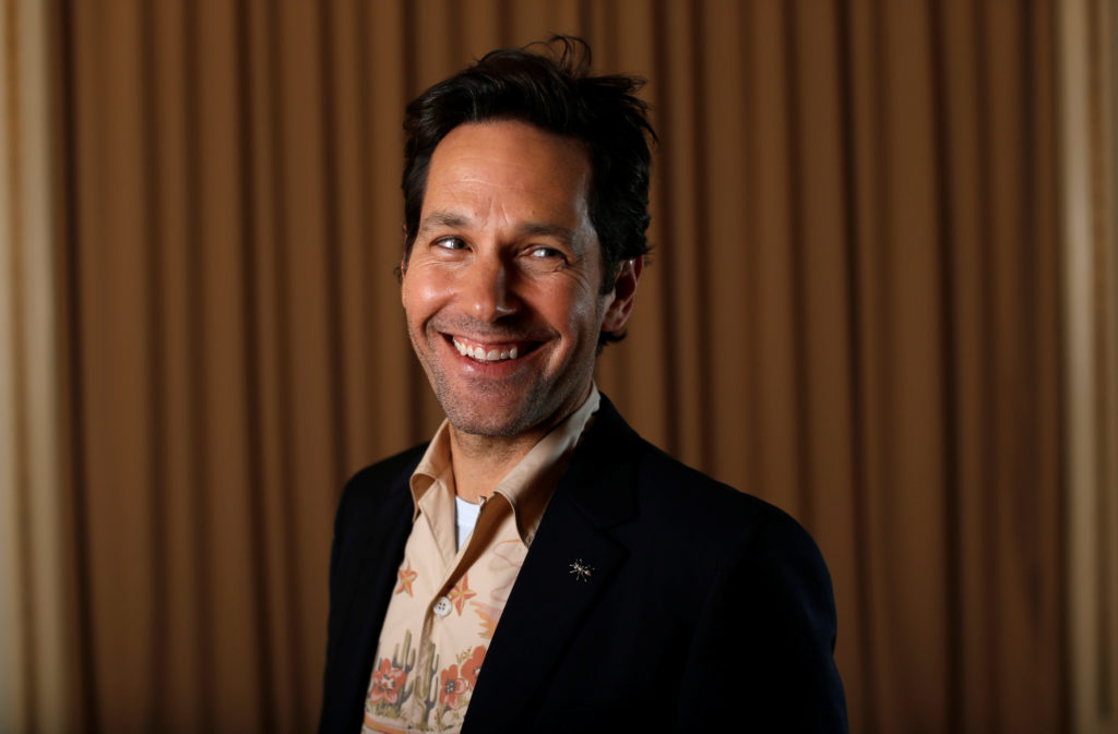 "Paul Rudd poses for a portrait while promoting the movie ""Ant-Man and the Wasp"" in Pasadena, California, U.S., June 24, 2018. Picture taken June 24, 2018. Photo by REUTERS/Mario Anzuoni"
