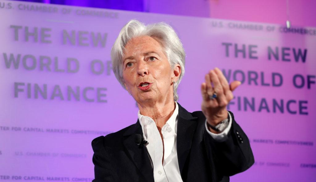 International Monetary Fund Managing Director Christine Lagarde del…