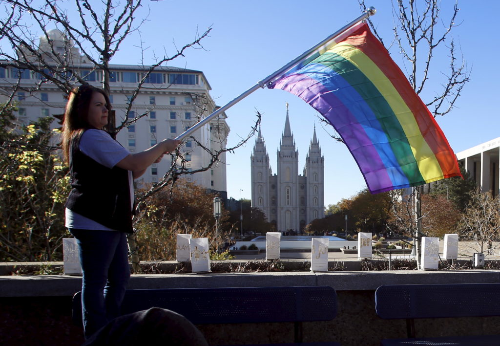 Mormon church repeals baptism ban for children of gay