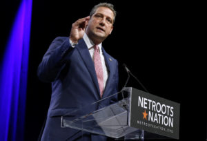 U.S. Representative Tim Ryan, D-Ohio, speaks at the Netroots Nation annual conference for political progressives in New Orleans, Louisiana, August 4, 2018. Photo by Jonathan Bachman/Reuters