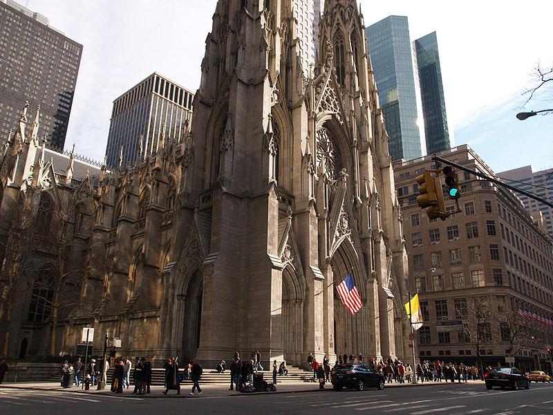 St. Patrick's Cathdral in New York City. Photo by Bartek Roszak/Reuters