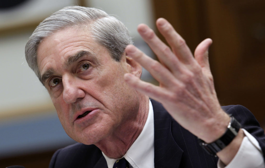 Robert Mueller testifies before the House Judiciary Committee as FBI director in 2013. Photo by REUTERS/Yuri Gripas
