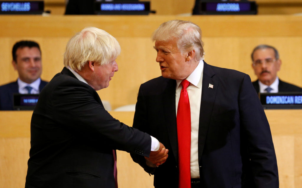 Image result for trump johnson