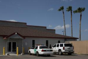 U.S. Border Patrol's central processing center in McAllen, Texas, on July 17, 2018. Photo by Loren Elliott/Reuters