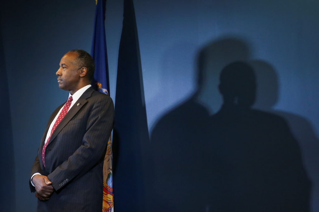 Government audit concludes Carson's $40K office purchases broke law