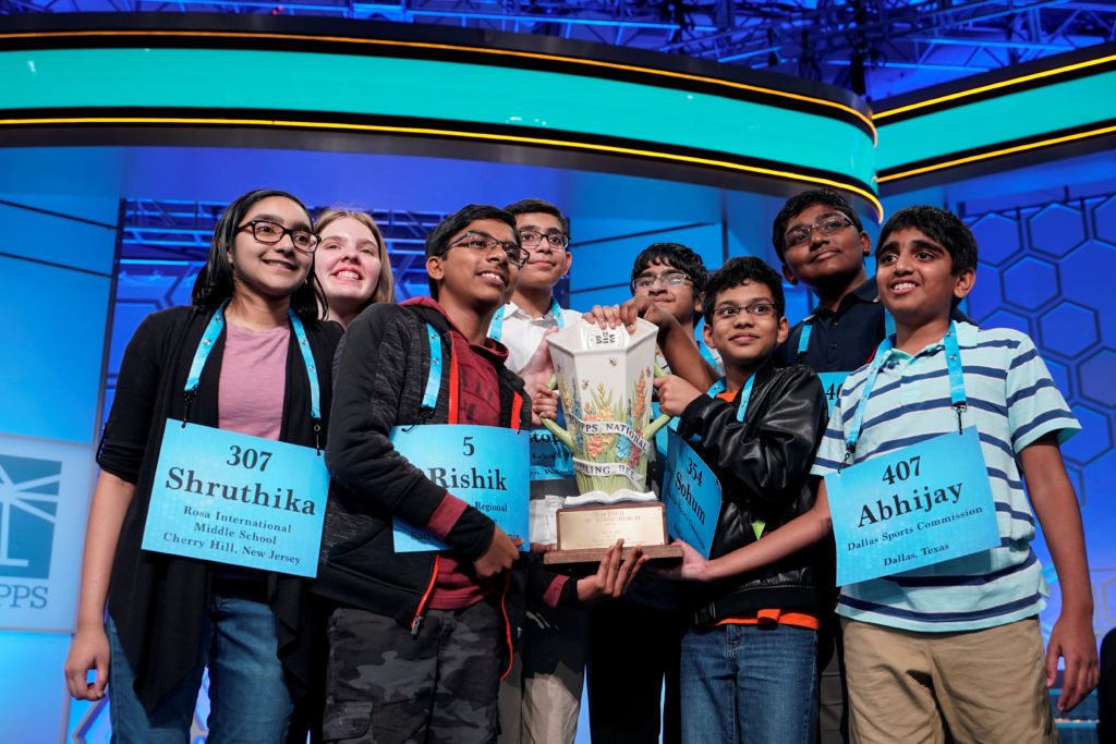 Scripps National Spelling Bee names 8 champions in historic