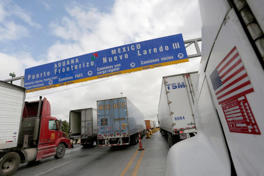 Image result for mexico border trucks