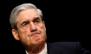 Robert Mueller, as FBI director, testifies before a Senate Intelligence Committee hearing on Capitol Hill in Washington on March 12, 2013. Photo by Kevin Lamarque/Reuters