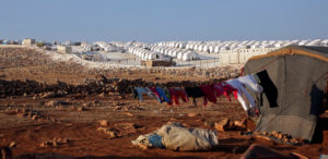 A general view of the refugee camp near Atimah village, Idlib province, Syria September 11 ,2018. Photo by Khalil Ashawi/Reuters