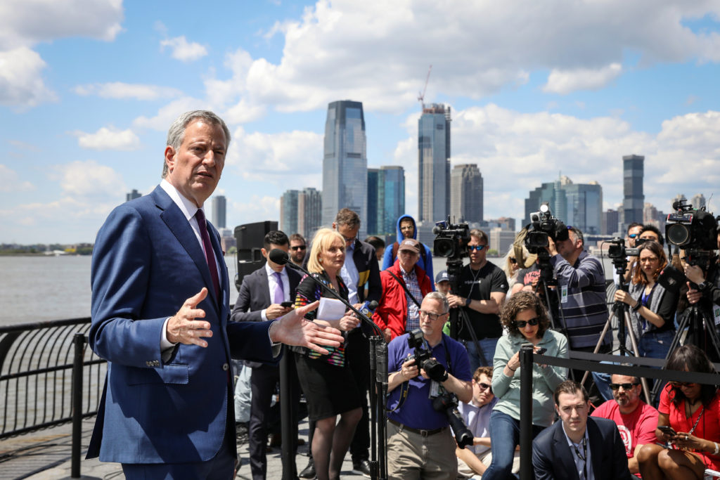 What does Bill de Blasio believe? Where the candidate stands on 8 issues